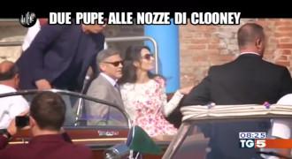 Due Pupe Al Matrimonio Di Clooney