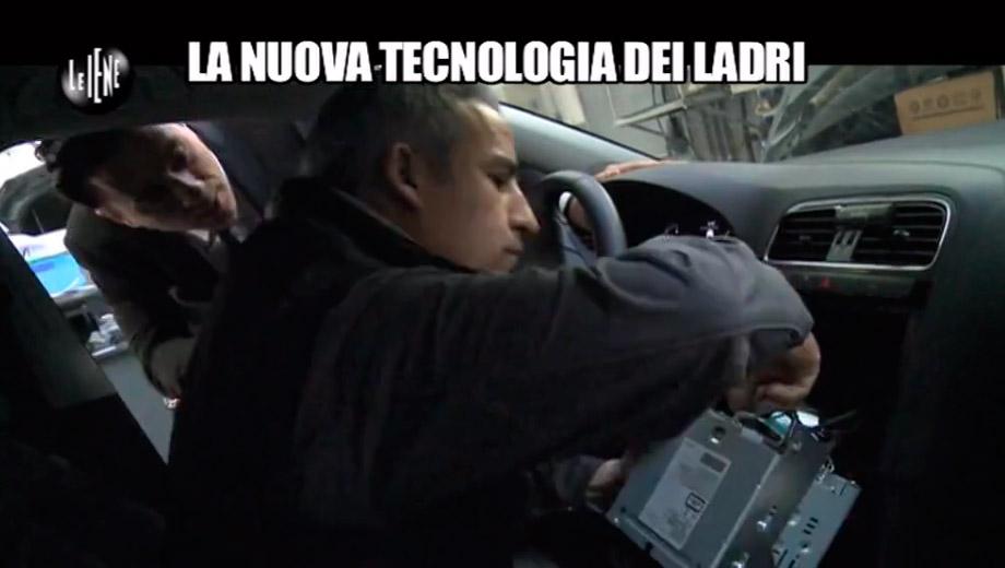 La nuova tecnologia dei ladri