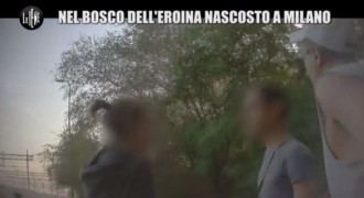 Nel Bosco Dell'Eroina Nascosto a Milano